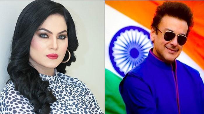 Veena Malik takes a hilarious jab at Adnan Sami