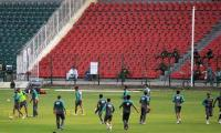 Pakistan cricket team training camp for Sri Lanka series begins