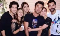 Alia Bhatt, Ranbir Kapoor hug it out at BFF Akansha Ranjan's party