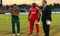 Zimbabwe win toss, bowl against Bangladesh in triangular T20I match