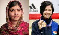Malala attacked by Indian shooter Heena Sidhu for raising voice for Kashmir