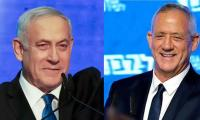 Benjamin Netanyahu, Benny Gantz deadlocked after Israeli polls