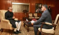 President Alvi endorses Malaysian-Turkish-Pak joint venture to unite Muslim world