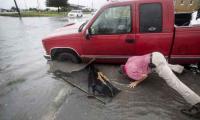 Hurricane Humberto brushes Bermuda