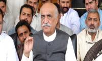 NAB gets two-day transit remand of Khursheed Shah