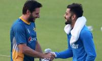 Shahid Afridi to Virat Kohli: You are a great player