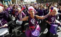 Protests held across Spain against gender violence