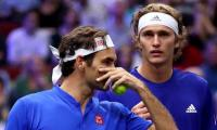 Federer teams up with Zverev to secure Europe Laver Cup lead