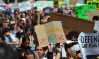 Masses of children skip school to join global strike against climate change