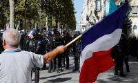 French police break up 'yellow vest' and 'black bloc' protests in Paris