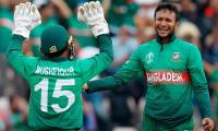 Shakib Al Hasan leads Bangladesh to win over Afghanistan