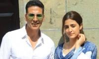 Akshay Kumar shoots music video with Kriti Sanon's sister Nurpur