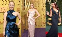 Television´s best and brightest shine on Emmys red carpet