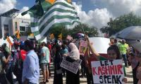 Houston echoes with anti-Modi slogans, thousands gather to support Kashmiris