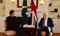PM Imran Khan meets UK PM Boris Johnson on sidelines of UNGA