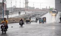 Various areas of Karachi receive light and heavy rain