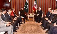 PM Imran meets Iranian, Turkish presidents