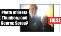 Fact-check: Photo of Greta Thunberg and George Soros?