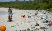 Ocean plastic waste probably comes from ships, report says