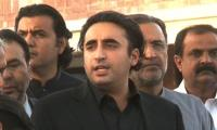 PPP stands with Fazlur Rehman on everything except a sit-in: Bilawal Bhutto
