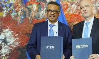 FIFA, UN to promote healthy lifestyles through football globally