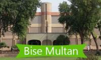 BISE Multan announces Intermediate Part 1 annual examination result 2019