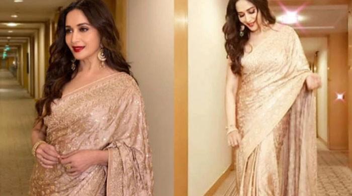 Who can wear a saree better than Madhuri Dixit?