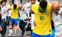 Injured Neymar out for four weeks say PSG