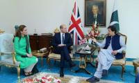 Prince William, Kate Middleton meet President Alvi, PM Imran in Islamabad