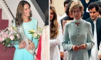 Kate Middleton's uncanny resemblance with Lady Diana on Pakistan visit