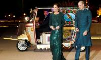 Kate Middleton, Prince William arrive at Pakistan Monument in a rickshaw