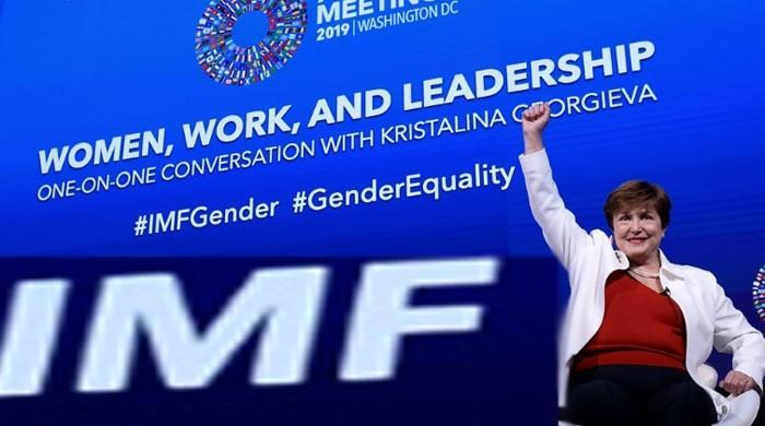 IMF chief Georgieva tells women: Don´t accept less!