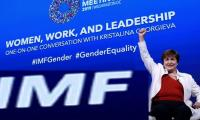 IMF chief Georgieva tells women: Don´t accept less!