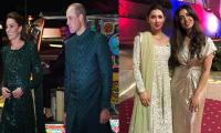 A star-studded affair: Mahira Khan, Atif Aslam and others meet Kate Middleton and Prince William