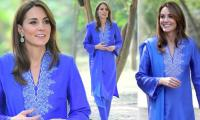 Kate Middleton sparks pregnancy rumours as royal doctor joins Pakistan visit