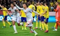 Rodrigo Moreno's heroics see Spain grasp late equaliser with Sweden in Euro 2020