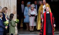 Queen Elizabeth attends service for Westminster Abbey's 750th anniversary