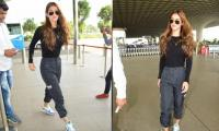 Disha Patani slays her comfy and stylish airport look