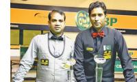 Sajjad and Asif reach final of 3rd National Ranking Snooker Championship