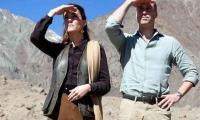 Kate, William visit melting glacier in Pakistan´s north