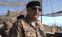 Army chief visits troops along LoC