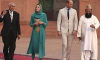 Kate Middleton wins hearts with Urdu speech as UK royals visit Lahore