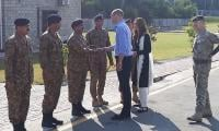 William, Kate visit Pak Army Canine Centre in Islamabad