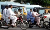 Ban on pillion riding, Section 144 to be imposed in Sindh on Chehlum