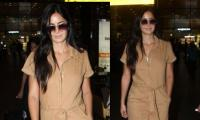 Katrina Kaif gives fierce vibes as she gets papped at the airport