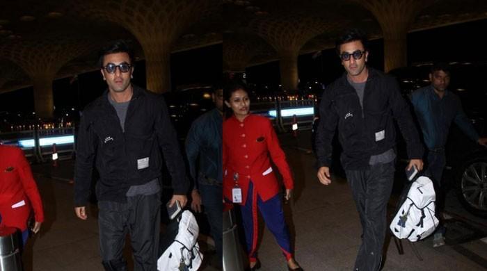 Ranbir Kapoor wins hearts as he celebrates paparazzi's birthday at Mumbai airport