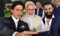 Shahrukh Khan, Aamir Khan hail Narendra Modi on Gandhi initiative