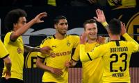 Dortmund beat Bundesliga top ranked Gladbach, Bayern Slip up against Augsburg