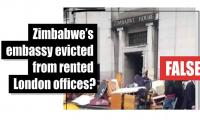 Fact-check: Zimbabwe's embassy evicted from rental London offices?