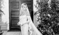 Hailey Bieber shares photos of her one-of-a-kind wedding dress